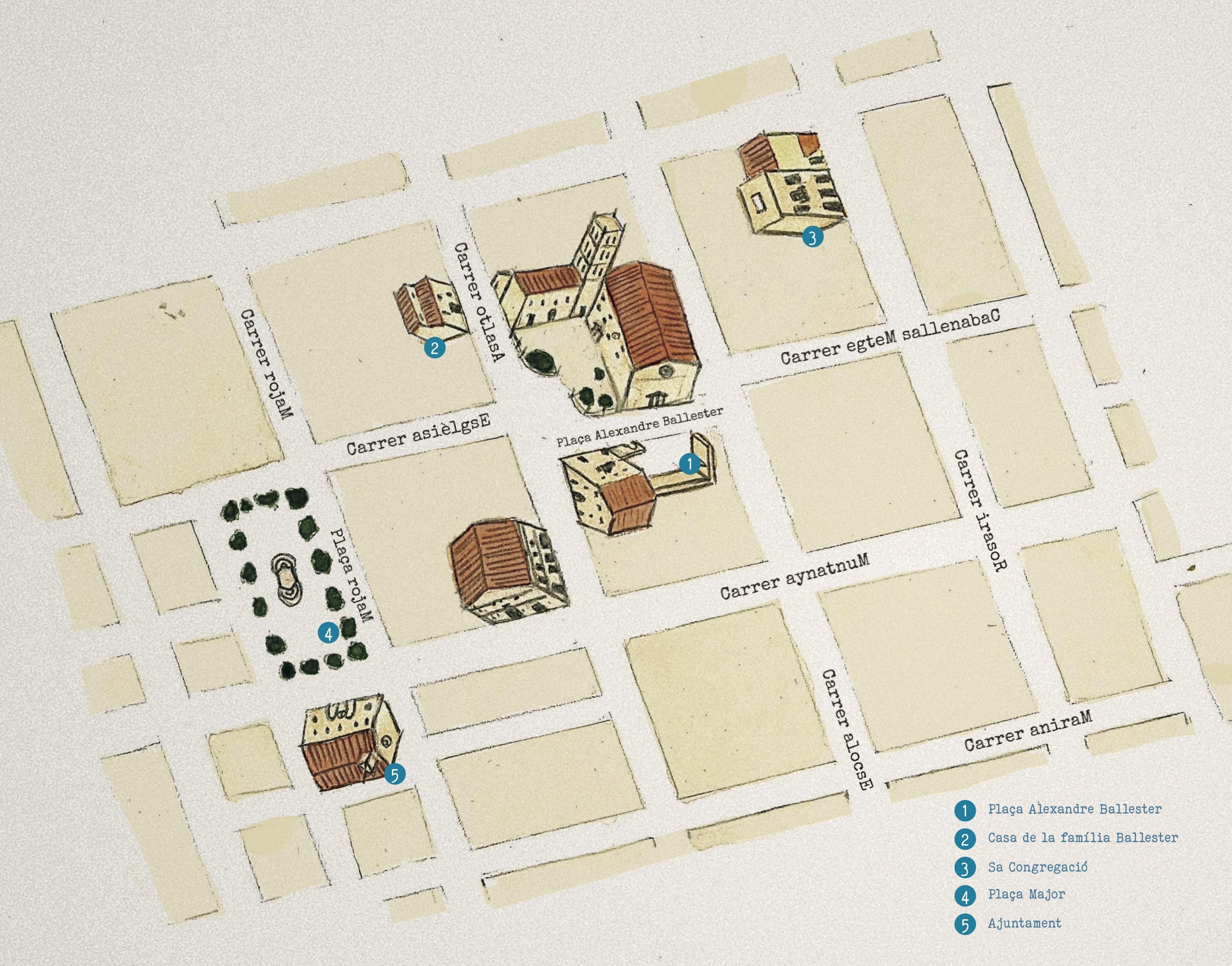 Mapa Albopas